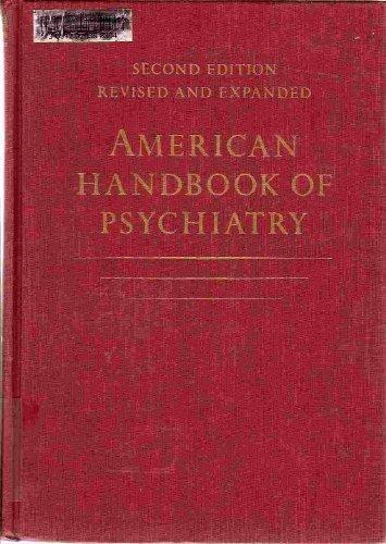 American Handbook of Psychiatry (v. 2) by Silvano Arieti (2000-05-03)