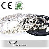 Auralum® Flexible 5M SMD 2835 72W Warmweiß Wasserdicht LED Streifen