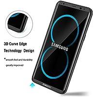 Galaxy S8 Plus Protector de Pantalla Cristal Templado MARVTEK. 3D/4D Curvo Cubre el 100% de la Pantalla hasta los Bordes Curvados para Samsung Galaxy S8 Plus (Clear / Transparente).