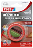 Tesa 56342-00013-01 Réparer Super Résistant Toile Forte adhésion 2,75 m x 19 mm Rouge
