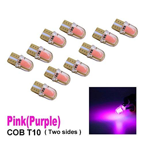 PA 10 x COB LED (deux côtés chaque Puce 4) T10 921 T15 194 CANBUS Silice Bright Side Marker Light/Turn Signal Light/conduite lumière/licence ampoules