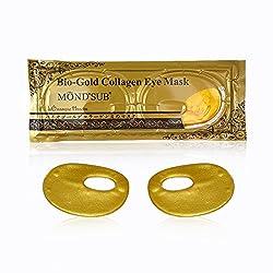 MONDSUB Golden Collagen Eyelid Masks (Set of 3 x 25g)