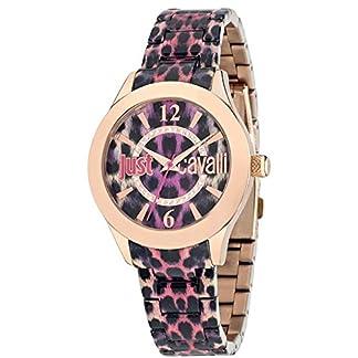 Just Cavalli Reloj de Cuarzo Woman Just Havana Morado/Dorado 37 mm
