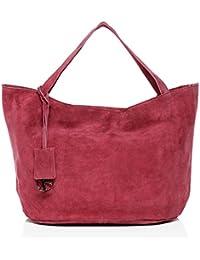 BACCINI sac porté épaule SELMA - grand - besace hobo - sac des dames en cuir véritable