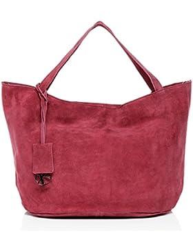 BACCINI® Handtasche mit langen Henkeln SELMA - Damen Schultertasche groß Ledertasche - Handtasche mit Schlüsselanhänger...
