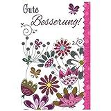 Susy Card 40009971 Grußkarte zur Genesung