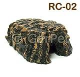 Terrarium Reptilien Höhle Schlangenhöhle Felshöhle Deko (RC-02)