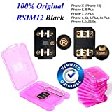 #7: 100% Original RSIM 12 Unlock iPhoneX-8-8p-7-7p-6s-6sp-5-5s with iOS 12.0.0, Very Easy & Fast Auto Plug and Play V9.7.7