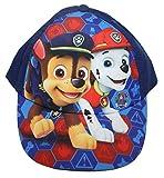 Paw Patrol Cap Kappe Schirmmütze (52, Dunkelblau 4)