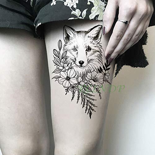 2 Piezas Etiqueta engomada del Tatuaje a Prueba de Agua y Las Reliquias de la Muerte Lord Voldemort Tatto Tatoo para Mujeres Hombres