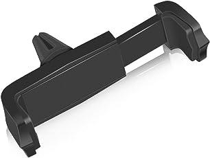 SICOOO Handyhalter fürs Auto, Handyhalterung Auto Smartphone Halterung KFZ Lüftung Halter,360 Grad drehbar,für Smartphones zwischen 4,5 Zoll bis 7,8 Zoll (Schwarz)