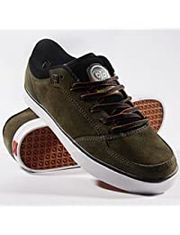 ES Skateboarding Shoes Keswick Black/Lime, Número de Zapato:38
