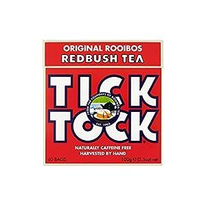 Tick ??Tock origine Thé Rooibos (40) - Paquet de 6