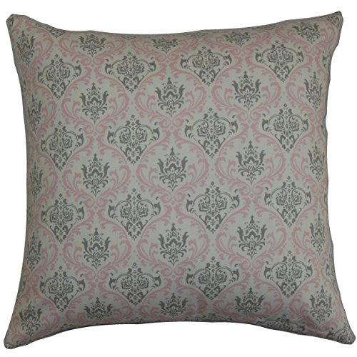 Damast Europäischen Sham (Das Kissen Collection euro-pp-madison-bellastormtwill Twill Pink Paulomi Damast Bettwäsche Sham, europäische/66x 66cm)