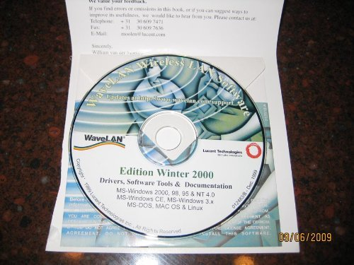 DRIVERS Disk for Lucent Proxim Agere Orinoco Classic 8410-WD 802.11b Wifi PCMCIA Card