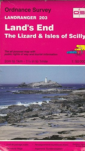 Land's End, the Lizard and Isles of Scilly