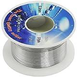 SODIAL(R) Enrouleur/bobine pour fil de soudure Dia.0.3mm 63% etain 37% plomb