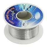 SODIAL(R) Soldadura Solida 0.3mm Diametro Nucleo Fundente 63% Estano 37% Carrete de Alambre