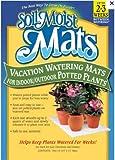 Moist Mats  Teppich Gartenschlauch Kristallen–Lot de 4–DIM: 40x 28cm = 8Liter–Die Pflanzen sind arrosées während 3Wochen