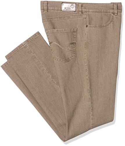 Unbekannt Damen Slim Jeans (Schmales Bein) Belmonte Cs Beige (taupe 761)