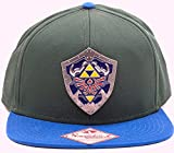 Zelda Cap Triforce Logo Metal Shield Baseball Cap Nintendo Schirmmütze Flat Bill Snapback Kappe