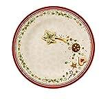 Villeroy & Boch 14-8612-2642 Winter Bakery Delight Frühstücksteller, Porzellan
