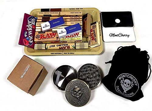 0er Mini Metall Rolling Tablett New Deal Geschenk für sie oder Ihre Lieben mit e-zwider Booklet Wild Berry von Trendz ()