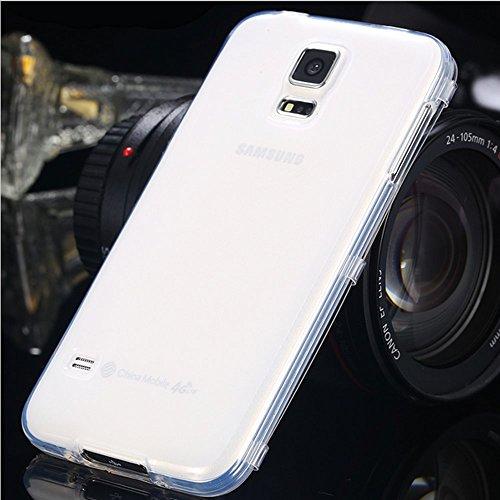 Handy Tasche Hülle Touch Case Cover Schutzhülle Smartphone Schutz Etui Schale , Farben:Transparent, Handy Modelle für:Apple iPhone 6 (4.7) Transparent