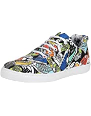 Kraasa 4215 Shoes Designer Printed Casual Sneakers