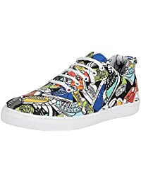 Kraasa 4215 Shoes Designer Printed Casual Sneakers
