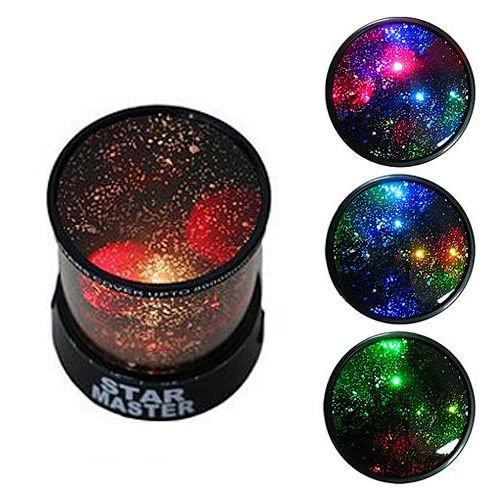 (Sternenhimmel Projektor Modell Projektor lampe Farbwechsler Lampe, Dekoration Licht, romantische Nacht Lampe, 3 Helligkeiten zu wahlen (4 Stück))