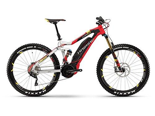 Haibike XDURO AllMtn 10.0 E-Bike 500Wh E-Mountainbike silber/rot/schwarz