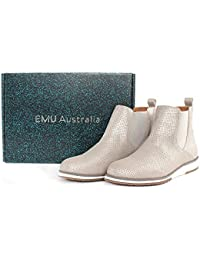 EMU Emu-w11069 - Botas de Piel para mujer plateado plata