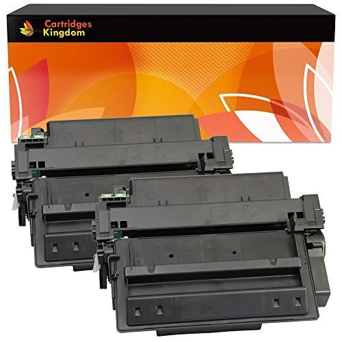 Cartridges Kingdom 2-er Pack Toner kompatibel zu HP Q7551X 51X für HP Laserjet P3005, P3005D, P3005DN, P3005DTN, P3005N, P3005X, M3035 MFP, M3035X MFP, M3035XS MFP, M3027 MFP, M3027X MFP, M3027XS MFP - Laserjet Toner Hp P3005n
