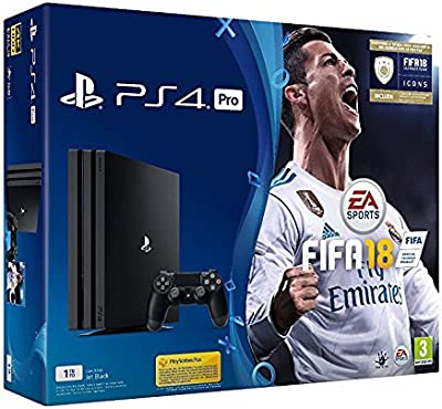 Console Videogames Sony Entertainment PS4 Pro Standard 1TB + FIFA 18