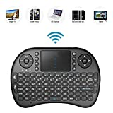 Bestdeal® 2.4GHz Mini Mobil Wireless QWERTY Tastatur mit Touchpad Maus, Li-ion Battery für LG Smart TV 47LB670V & 50LB670V & 55LB670V & 42LB671V & 47LB671V & 50LB671V