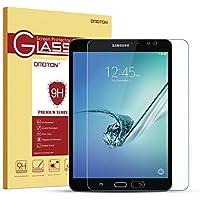OMOTON Cristal templado para Samsung Galaxy Tab S2 8.0 Wi-Fi Pulgadas Protector de Pantalla Vidrio Templado[Garantía de por vida][Alta Definicion][HD ultra delgado]