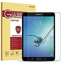 OMOTON Cristal templado para Samsung Galaxy Tab S2 8.0 Wi-Fi Pulgadas Protector de Pantalla Vidrio Templado[Garantía de por vida][Alta Definicion][HD ultra