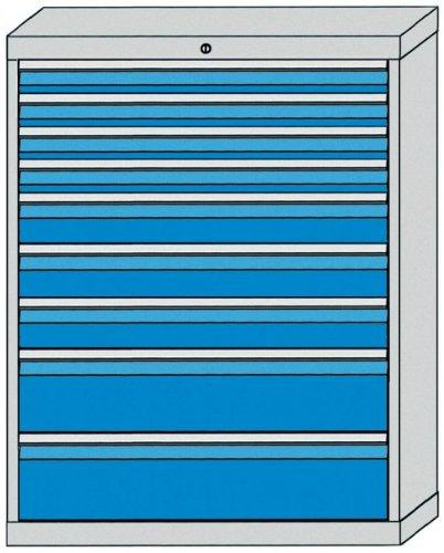 Schubladenschrank Serie 700 mit 9 Schubladen verschiedene BLH