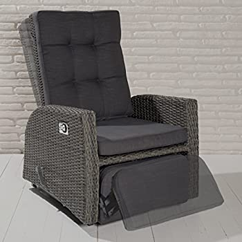 poly rattan gartensessel relaxsessel. Black Bedroom Furniture Sets. Home Design Ideas