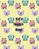 Kid's Sketch Book: Animal Theme: Volume 2 (Kids Sketch Books, Scrap Books and Journals)