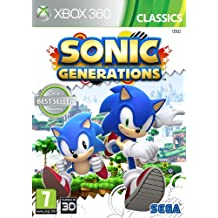 SEGA Sonic Generations Classics, Xbox 360 Xbox 360 video game - Video Games (Xbox 360, Xbox 360, Action)