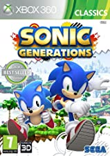 SEGA Sonic Generations Classics, Xbox 360 Xbox 360 video game - Video Games (Xbox 360, Xbox 360, Action)