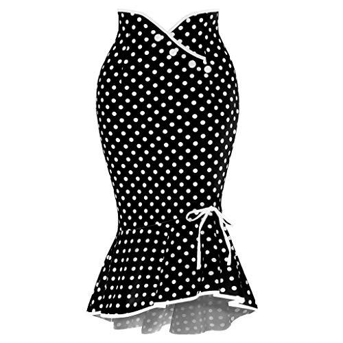 Sylar Falda Flamenca Mujer Faldas Mujer Cortas Verano