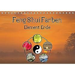 Feng Shui Farben - Element Erde (Tischkalender 2017 DIN A5 quer): Die Farben Gelb, Ocker und Braun stehen in der Feng Shui Lehre für das Element der ... (Monatskalender, 14 Seiten ) (CALVENDO Natur)