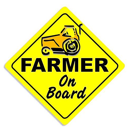 farmer-on-board-car-sticker-tractor-sign-self-adhesive-bumper-decal