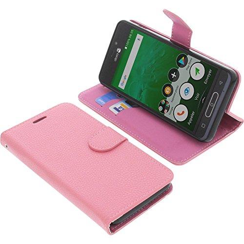 Tasche für Doro 8035 Book Style pink Schutz Hülle Buch