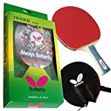 #10: Butterfly 201 Shakehand Table Tennis Racket
