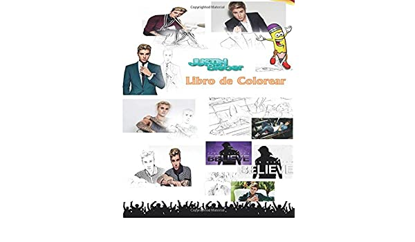 Buy Justin Bieber Libro de Colorear para adultos y niños Book Online ...