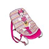 Hauck / Babywippe Rocky von Disney / Schaukelfunktion / verstellbare Rückenlehne, Sicherheitsgurt und Tragegriffe / ab Geburt bis 9 kg verwendbar / kippsicher und tragbar, Minnie Geo Pink (Pink)